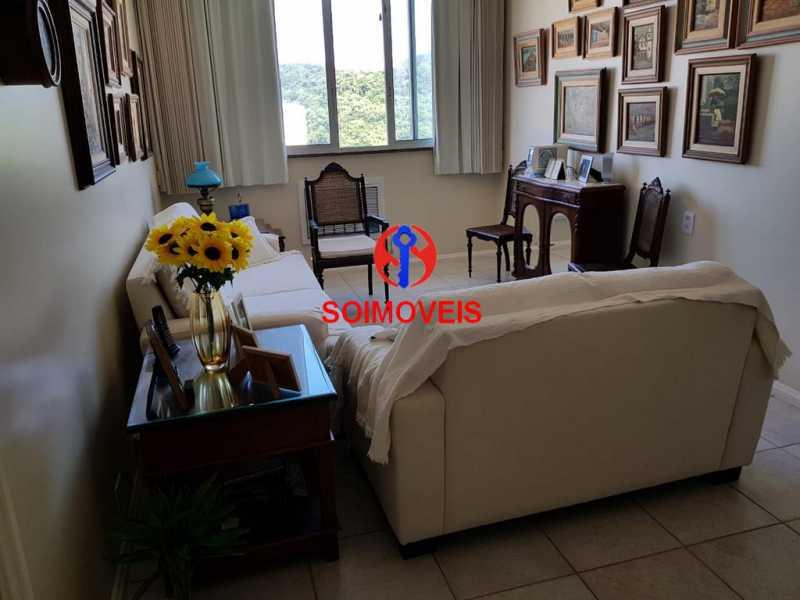Sala 3. - Apartamento 3 quartos à venda Laranjeiras, Rio de Janeiro - R$ 1.000.000 - TJAP30558 - 5