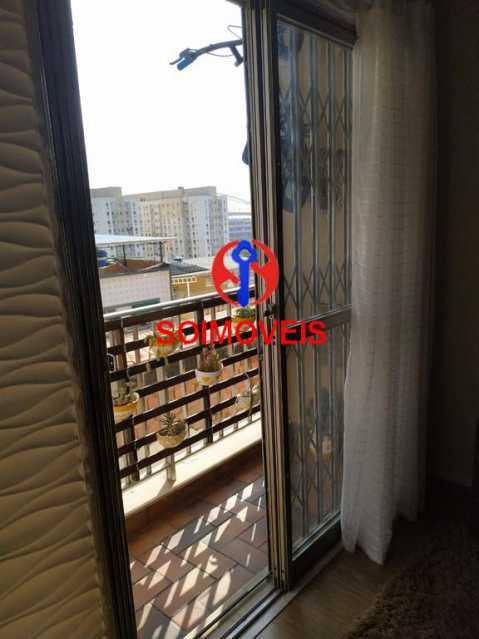 Varanda - Apartamento 2 quartos à venda Todos os Santos, Rio de Janeiro - R$ 300.000 - TJAP21229 - 4