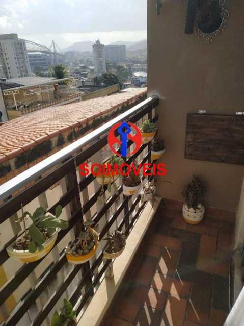 Varanda - Apartamento 2 quartos à venda Todos os Santos, Rio de Janeiro - R$ 300.000 - TJAP21229 - 3