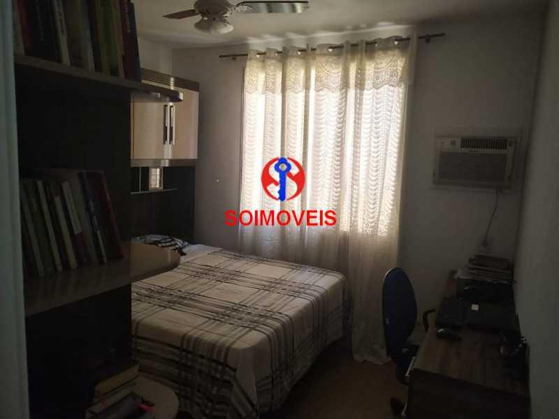 Quarto - Apartamento 2 quartos à venda Todos os Santos, Rio de Janeiro - R$ 300.000 - TJAP21229 - 11