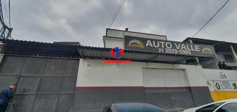FACHADA - Galpão 330m² para venda e aluguel Braz de Pina, Rio de Janeiro - R$ 750.000 - TJGA00006 - 1