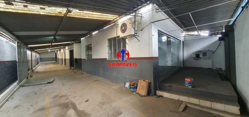 ENTRADA - Galpão 330m² para venda e aluguel Braz de Pina, Rio de Janeiro - R$ 750.000 - TJGA00006 - 3