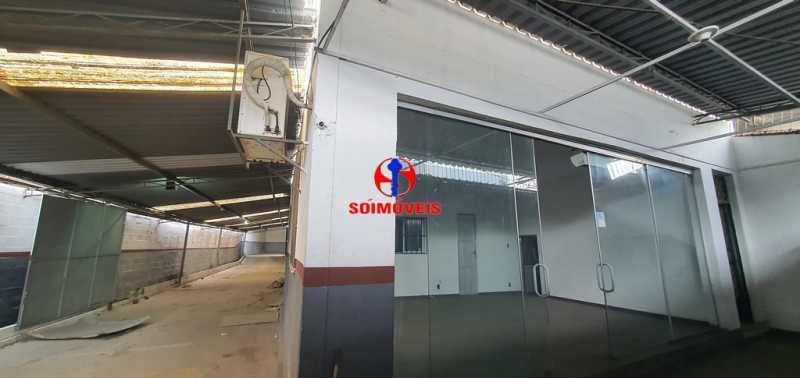 ENTRADA - Galpão 330m² para venda e aluguel Braz de Pina, Rio de Janeiro - R$ 750.000 - TJGA00006 - 4