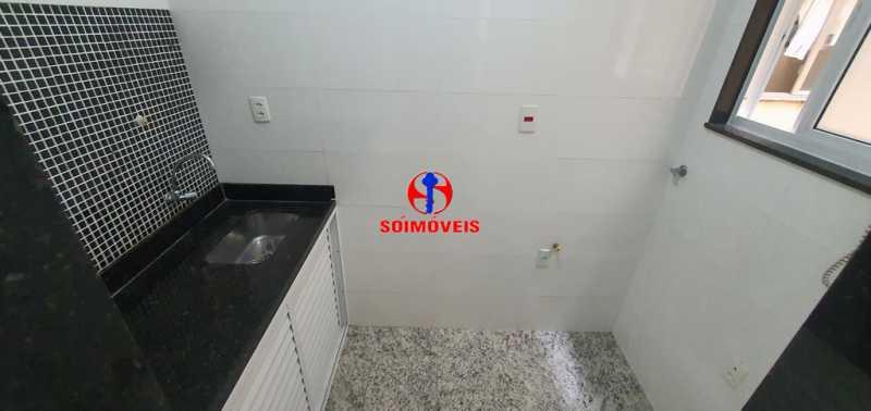 COZINHA - Apartamento 2 quartos à venda Copacabana, Rio de Janeiro - R$ 630.000 - TJAP21232 - 8