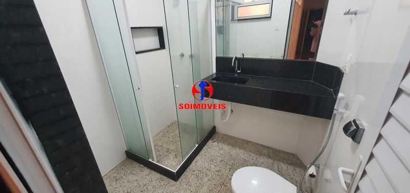 BANHEIRO - Apartamento 2 quartos à venda Copacabana, Rio de Janeiro - R$ 630.000 - TJAP21232 - 16