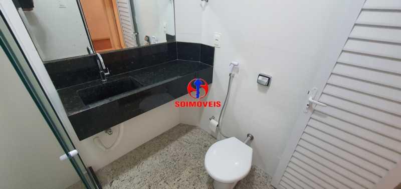 BANHEIRO - Apartamento 2 quartos à venda Copacabana, Rio de Janeiro - R$ 630.000 - TJAP21232 - 19