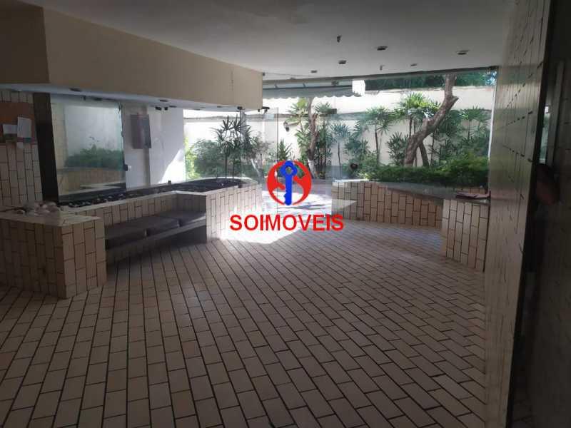 Entrada. - Apartamento 2 quartos à venda Engenho de Dentro, Rio de Janeiro - R$ 260.000 - TJAP21234 - 17