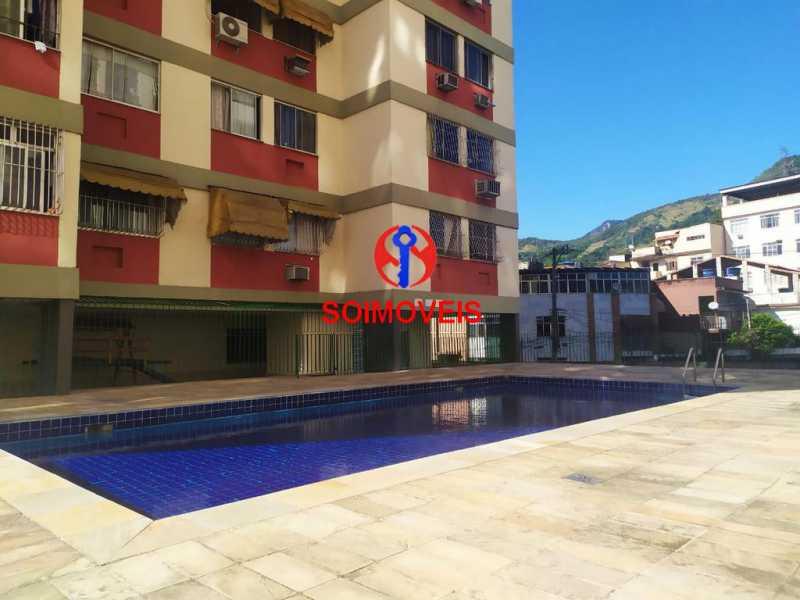 Piscina. - Apartamento 2 quartos à venda Engenho de Dentro, Rio de Janeiro - R$ 260.000 - TJAP21234 - 1