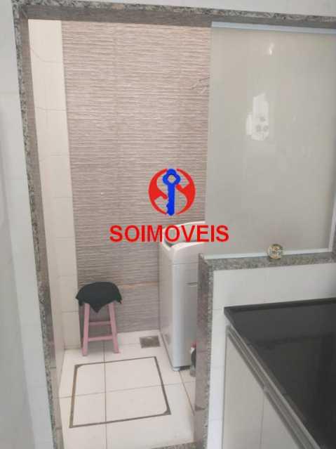 Area de serviço. - Casa em Condomínio 2 quartos à venda São Francisco Xavier, Rio de Janeiro - R$ 425.000 - TJCN20007 - 19