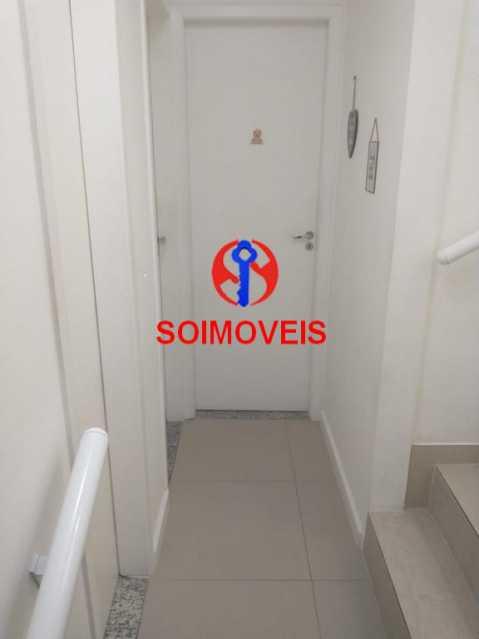 Corredor. - Casa em Condomínio 2 quartos à venda São Francisco Xavier, Rio de Janeiro - R$ 425.000 - TJCN20007 - 14