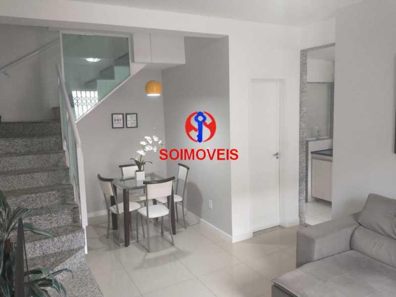 Sala 2. - Casa em Condomínio 2 quartos à venda São Francisco Xavier, Rio de Janeiro - R$ 425.000 - TJCN20007 - 6