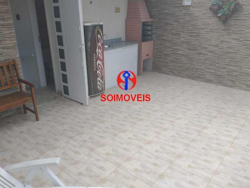 Terraço. - Casa em Condomínio 2 quartos à venda São Francisco Xavier, Rio de Janeiro - R$ 425.000 - TJCN20007 - 15
