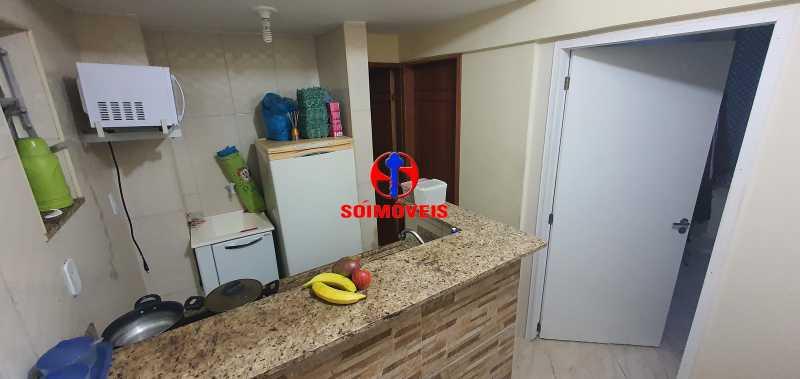 COZINHA - Apartamento 1 quarto à venda Glória, Rio de Janeiro - R$ 330.000 - TJAP10279 - 4