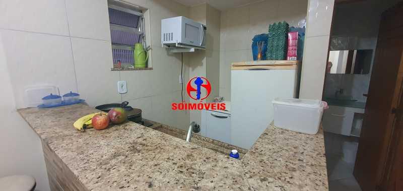 COZINHA - Apartamento 1 quarto à venda Glória, Rio de Janeiro - R$ 330.000 - TJAP10279 - 5
