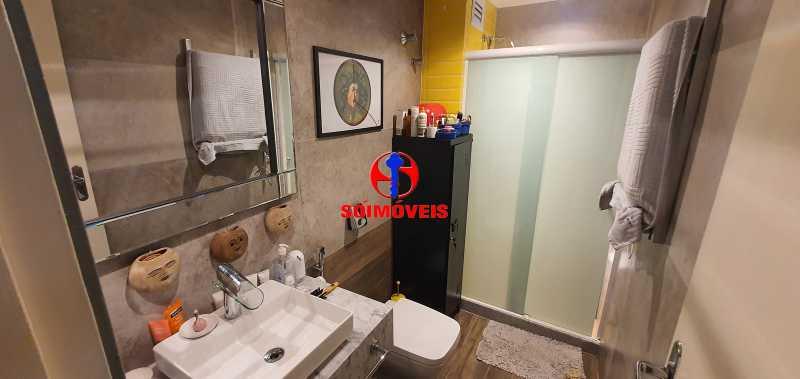 BANHEIRO - Apartamento 2 quartos à venda Andaraí, Rio de Janeiro - R$ 370.000 - TJAP21245 - 18
