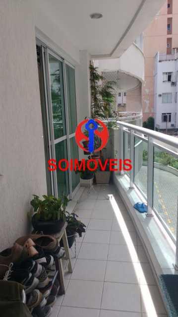 VARANDA - Apartamento 2 quartos à venda Andaraí, Rio de Janeiro - R$ 590.000 - TJAP21252 - 26