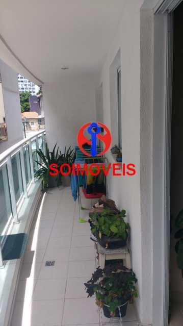 VARANDA - Apartamento 2 quartos à venda Andaraí, Rio de Janeiro - R$ 590.000 - TJAP21252 - 27