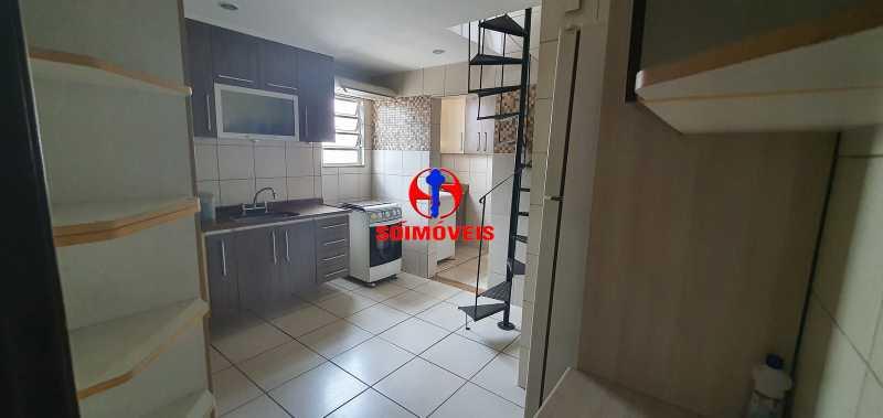 cozinha - Apartamento 2 quartos à venda Grajaú, Rio de Janeiro - R$ 430.000 - TJAP21261 - 3