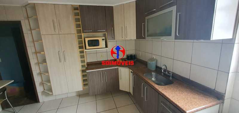cozinha - Apartamento 2 quartos à venda Grajaú, Rio de Janeiro - R$ 430.000 - TJAP21261 - 7