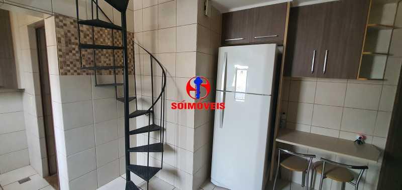 escada de acesso ao terraço - Apartamento 2 quartos à venda Grajaú, Rio de Janeiro - R$ 430.000 - TJAP21261 - 19