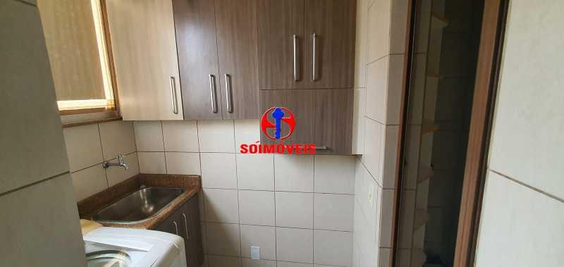 área de serviço - Apartamento 2 quartos à venda Grajaú, Rio de Janeiro - R$ 430.000 - TJAP21261 - 20