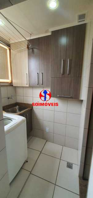 área de serviço - Apartamento 2 quartos à venda Grajaú, Rio de Janeiro - R$ 430.000 - TJAP21261 - 21