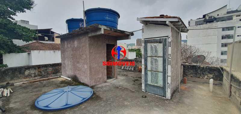 terraço - Apartamento 2 quartos à venda Grajaú, Rio de Janeiro - R$ 430.000 - TJAP21261 - 23