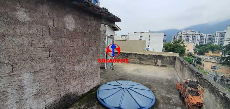 terraço - Apartamento 2 quartos à venda Grajaú, Rio de Janeiro - R$ 430.000 - TJAP21261 - 25