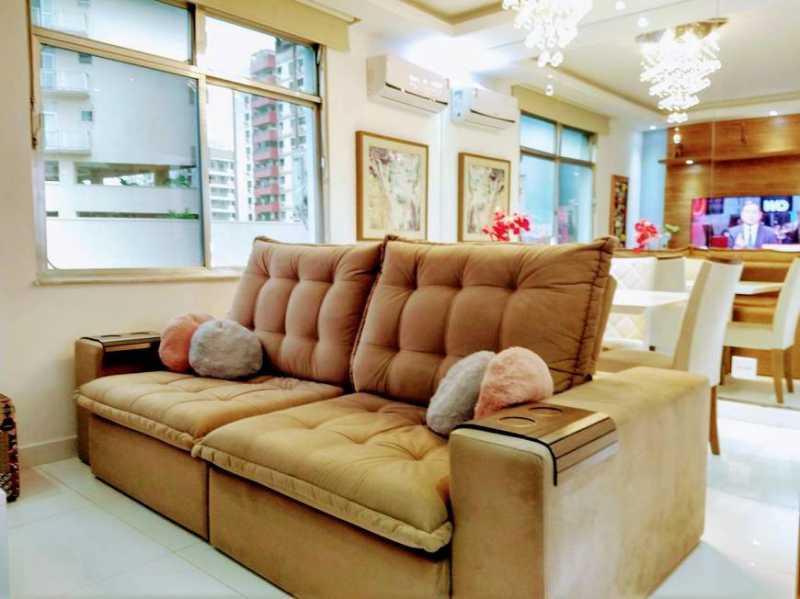 sala - Apartamento 2 quartos à venda Cachambi, Rio de Janeiro - R$ 280.000 - TJAP21257 - 1