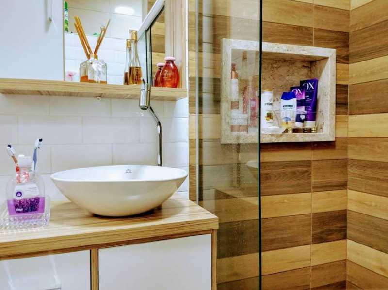 banheiro socil - Apartamento 2 quartos à venda Cachambi, Rio de Janeiro - R$ 280.000 - TJAP21257 - 10