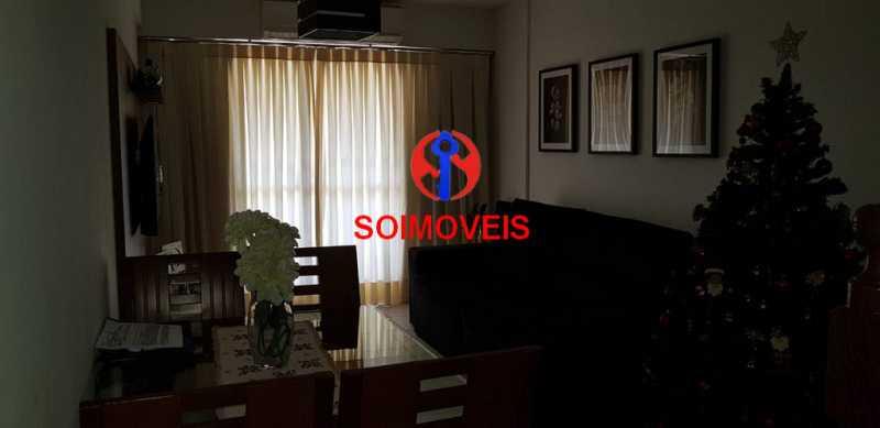 sl - Cobertura 3 quartos à venda Méier, Rio de Janeiro - R$ 600.000 - TJCO30043 - 1