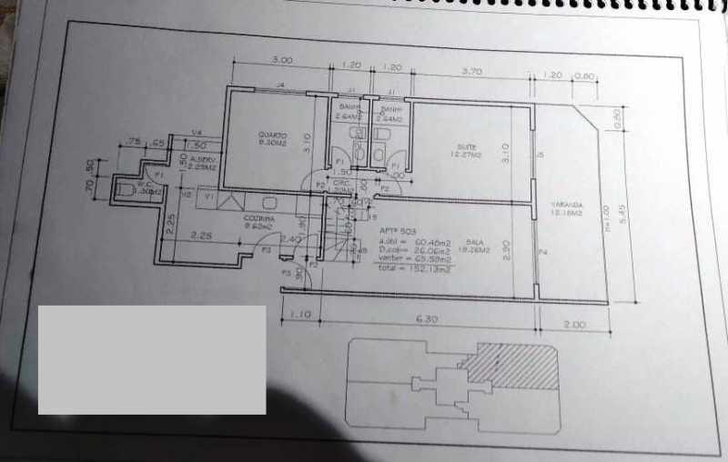 planta - Cobertura 3 quartos à venda Méier, Rio de Janeiro - R$ 600.000 - TJCO30043 - 27