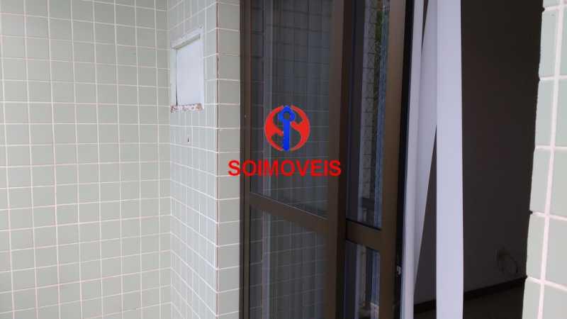Entrada - Apartamento 2 quartos à venda Taquara, Rio de Janeiro - R$ 300.000 - TJAP21264 - 5