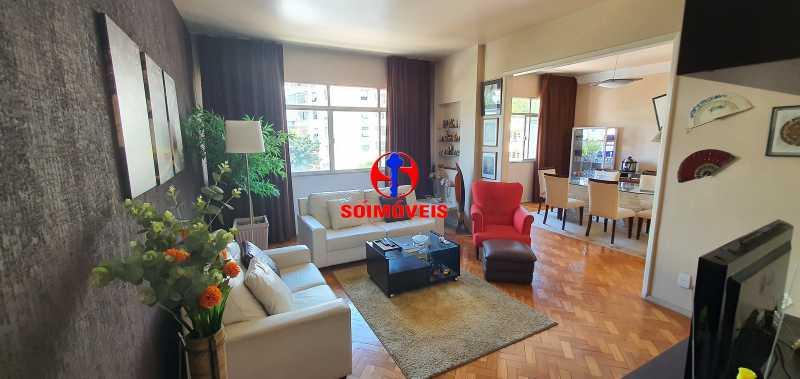 SALA DE JANTAR - Apartamento 4 quartos à venda Rio Comprido, Rio de Janeiro - R$ 650.000 - TJAP40050 - 3