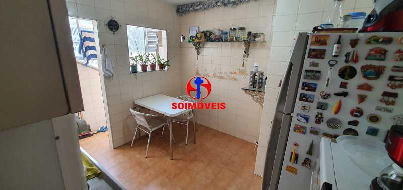 COZINHA - Apartamento 4 quartos à venda Rio Comprido, Rio de Janeiro - R$ 650.000 - TJAP40050 - 5