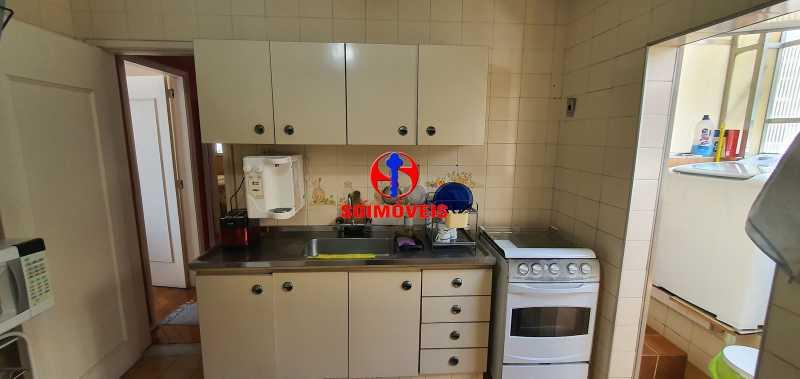 COZINHA - Apartamento 4 quartos à venda Rio Comprido, Rio de Janeiro - R$ 650.000 - TJAP40050 - 6