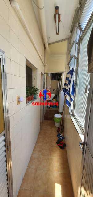 ÁREA DE SERVIÇO COM BANHEIRO - Apartamento 4 quartos à venda Rio Comprido, Rio de Janeiro - R$ 650.000 - TJAP40050 - 8