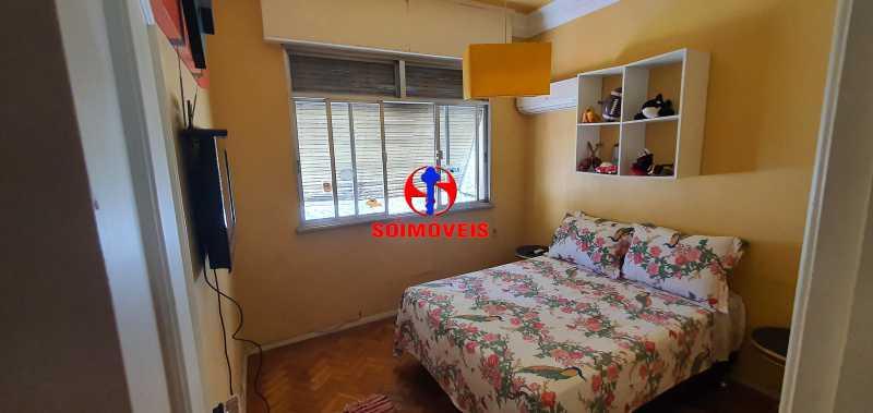 QUARTO 1 - Apartamento 4 quartos à venda Rio Comprido, Rio de Janeiro - R$ 650.000 - TJAP40050 - 9