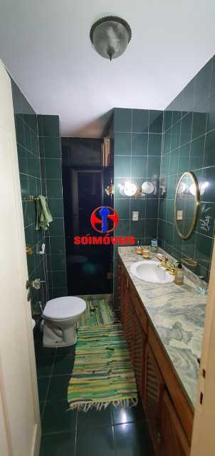 BANHEIRO SOCIAL - Apartamento 4 quartos à venda Rio Comprido, Rio de Janeiro - R$ 650.000 - TJAP40050 - 11