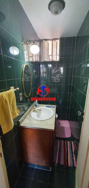 LAVABO - Apartamento 4 quartos à venda Rio Comprido, Rio de Janeiro - R$ 650.000 - TJAP40050 - 12
