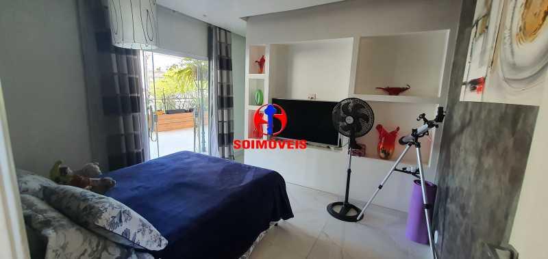 SUÍTE - Apartamento 4 quartos à venda Rio Comprido, Rio de Janeiro - R$ 650.000 - TJAP40050 - 13
