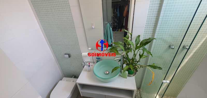 SUÍTE - Apartamento 4 quartos à venda Rio Comprido, Rio de Janeiro - R$ 650.000 - TJAP40050 - 15