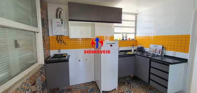 COZINHA GOURMET - Apartamento 4 quartos à venda Rio Comprido, Rio de Janeiro - R$ 650.000 - TJAP40050 - 20