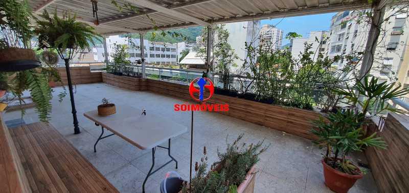 TERRAÇO - Apartamento 4 quartos à venda Rio Comprido, Rio de Janeiro - R$ 650.000 - TJAP40050 - 21