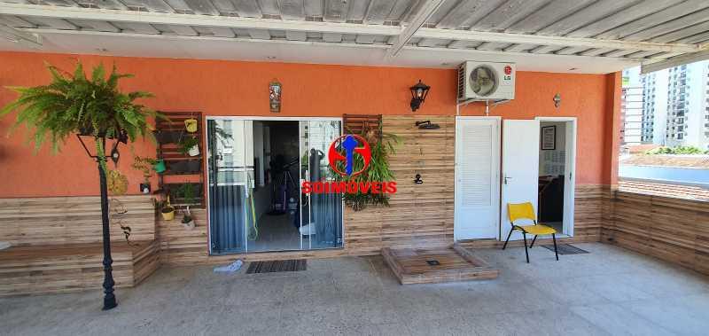 TERRAÇO - Apartamento 4 quartos à venda Rio Comprido, Rio de Janeiro - R$ 650.000 - TJAP40050 - 22