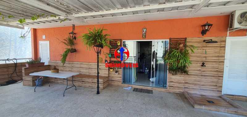 TERRAÇO - Apartamento 4 quartos à venda Rio Comprido, Rio de Janeiro - R$ 650.000 - TJAP40050 - 23