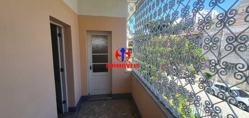 VARANDA - Casa 3 quartos à venda Vila Isabel, Rio de Janeiro - R$ 1.500.000 - TJCA30069 - 13