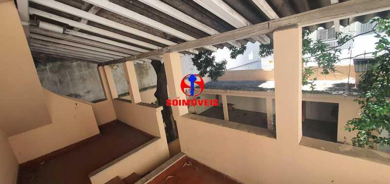 VARANDA FUNDOS - Casa 3 quartos à venda Vila Isabel, Rio de Janeiro - R$ 1.500.000 - TJCA30069 - 19
