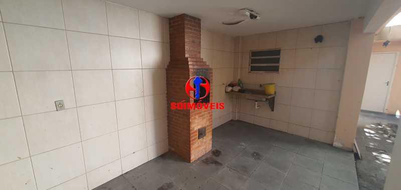 CHURRASQUEIRA - Casa 3 quartos à venda Vila Isabel, Rio de Janeiro - R$ 1.500.000 - TJCA30069 - 24