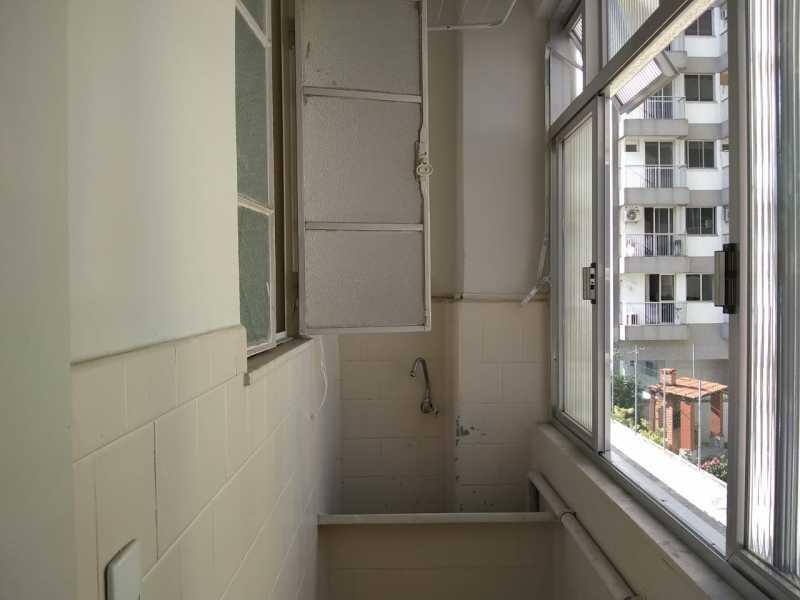 ARÉA DE  SERVIÇO - Apartamento 1 quarto à venda Andaraí, Rio de Janeiro - R$ 305.000 - TJAP10287 - 22